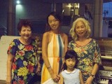 Pianovers Meetup #1, Mdm Lily, Denise, Elizabeth Ng, and her family member