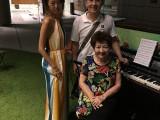 Pianovers Meetup #1, Denise, Sng Yong Meng, Mdm Lily
