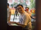 Pianovers Meetup #2, Chris Khoo stealing a glance at his duet partner