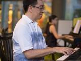 Pianovers Meetup #2, Chris Khoo in focus with Tabitha Gan