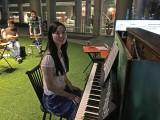 Pianovers Meetup #2, Yang Liu before her performance