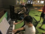 Pianovers Meetup #2, 8-hands Impromptu Improvisation by Marc Yeo, Tabitha Gan, Jimmy Chong, and Harith