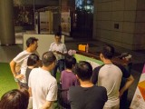 Pianovers Meetup #5, Joseph Lim plays to an audience