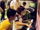 Pianovers Meetup #7, Joseph Lim, Jimmy Chong, with Junn Lim playing