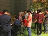 Pianovers Meetup #8, Xavier playing