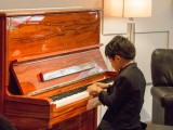 Launch of new Steinway Crown Jewel, Toby Tan performing