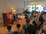Launch of new Steinway Crown Jewel, Toby Tan performing to an audience