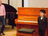 Launch of new Steinway Crown Jewel, Andrew Goh introducing Toby Tan