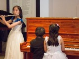 Launch of new Steinway Crown Jewel, Yi Ting, Toby Tan, and Chen Jing performing a trio