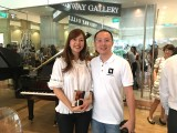 Launch of new Steinway Crown Jewel, Winnie Tay, and Sng Yong Meng