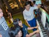 Pianovers Meetup #9, Chng Jia Hui enjoying herself