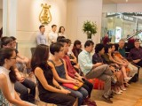 Conferment Ceremony of Young Steinway Artist Mervyn Lee, The crowd waiting for Mervyn Lee's performance