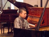 Conferment Ceremony of Young Steinway Artist Mervyn Lee, Mervyn Lee performing