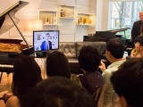 Conferment Ceremony of Young Steinway Artist Mervyn Lee, Congratulatory note from Hamburg