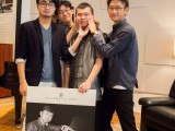 Conferment Ceremony of Young Steinway Artist Mervyn Lee, Mervyn Lee and friends in funny pose