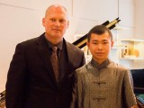 Conferment Ceremony of Young Steinway Artist Mervyn Lee, Thomas Hecht, and Mervyn Lee