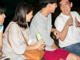 Pianovers Meetup #10, May Ling, Man Yee Li, Duc Ha Minh, listening to Chris Khoo