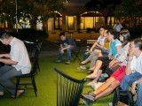 Pianovers Meetup #10, Crowd listening to Jerome