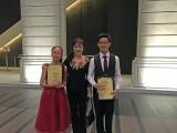 3rd Steinway Youth Piano Competition Gala Concert, Tan Khin Swee Elizabeth, Fang Yuan and Wang Huang Hao Jia