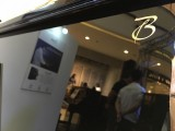 Steinway Gallery Singapore Clearance Sale 2016, Boston logo on the piano