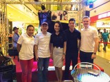 Steinway Gallery Singapore Clearance Sale 2016, Group picture of Sng Yong Meng, Celine Goh, and Steinway Staff