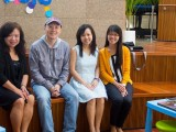 Second ThePiano.SG Piano Teachers' Outing, Group picture of Serene Chew, Sng Yong Meng, Pauline Tan, and Liew Hui Jie