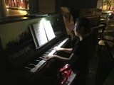 ThePiano.SG Teachers Outing #3, Pauline Tan playing in the dark