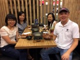 ThePiano.SG Teachers Outing #1, Group picture of Chng Jia Hui, Charlotte Ong, Pauline Tan, and Sng Yong Meng