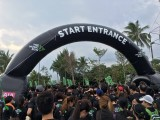 The Music Run, Entrance