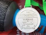 The Music Run, The Ultimate 5K Running & Music Festival medal