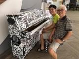 People having fun at Play Me, I'm Yours Singapore tour, Matthew Tan, Ronnie Choo