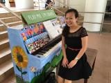 People having fun at Play Me, I'm Yours Singapore tour, Pauline Tan