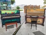 Play It Forward Singapore Season #2, Pianos at One Fullerton