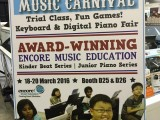 SmartKids Asia 2016, Absolute Piano presenting Music Carnival