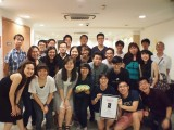 NUS Piano Ensemble Alumni Concert 2016, Group picture with Alumni members