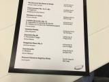 NUS Piano Ensemble Alumni Concert 2016, Programme