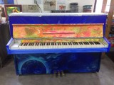 "Dignity Kitchen takes part in ""Play Me, I'm Yours"" Singapore 2016, Full front view of the piano"