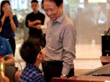Launch of 3rd Steinway Youth Piano Competition 2016, Professor Yu Chun Yee giving some advice