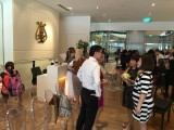 Launch of 3rd Steinway Youth Piano Competition 2016, Guests mingling