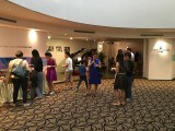 Launch of 3rd Steinway Youth Piano Competition 2016, Guests eating and mingling