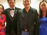 Congyu Wang Piano Recital Singapore 2015, Pauline Tan, Congyu Wang, Sng Yong Meng, and Jenny Soh