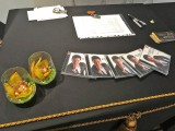 Young Steinway Artist, Congyu Wang, Debuts New CD Release, Charme, CD Albums on the reception table
