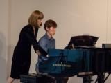 Piano Workshop by Emma Leiuman, Emma Leiuman giving advise