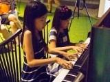 Pianovers Meetup #11, Crystal and Claris performing