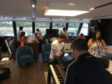 Pianovers Sailaway Pre-Event Shoot, Moving the pianos into place