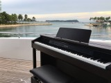 Pianovers Sailaway Pre-Event Shoot, Casio CELVIANO AP-460 on the flybridge
