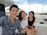Pianovers Sailaway Pre-Event Shoot, Abel, Karina, and Hui Jie