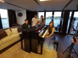 Pianovers Sailaway Pre-Event Shoot, Abel, Joel, Sang Hee, and Karina