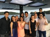 Pianovers Sailaway Pre-Event Shoot, Group picture of the talents, photographer, videographer, and Yong Meng