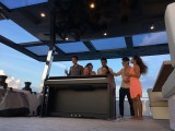 Pianovers Sailaway Pre-Event Shoot, Talents on the flybridge